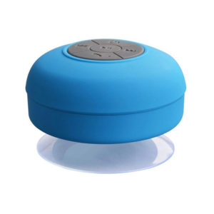 Enceinte Bluetooth colorée pour salle de bain Bleu 01