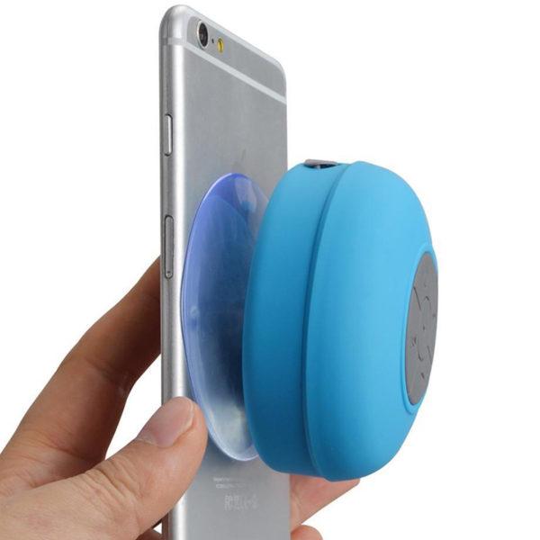Enceinte Bluetooth colorée pour salle de bain Bleu 09