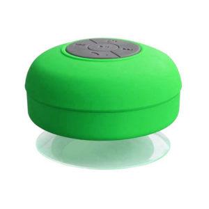 Enceinte Bluetooth colorée pour salle de bain Green 01