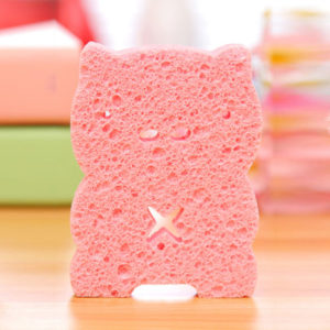 Mini fun pig sponge | Pink