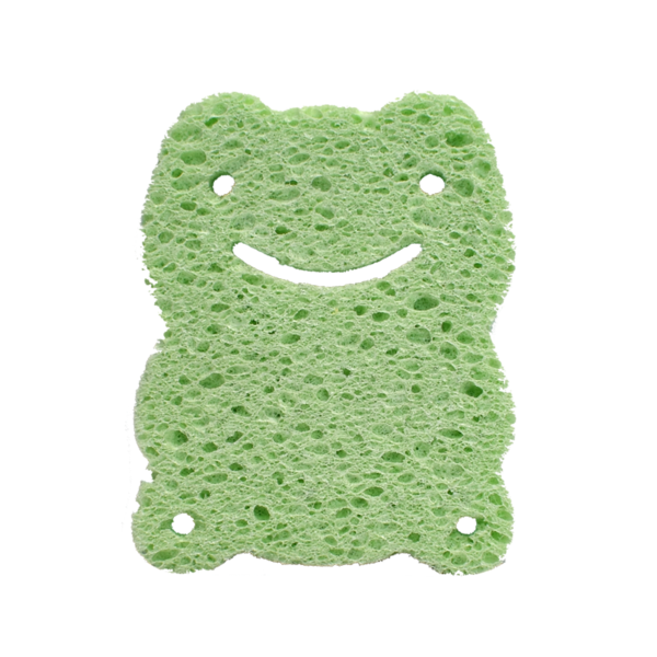 Mini fun frog sponge | Green