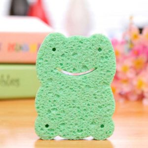 Mini fun frog sponge | Green