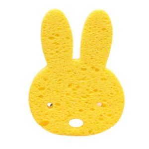 Mini fun rabbit sponge | Yellow