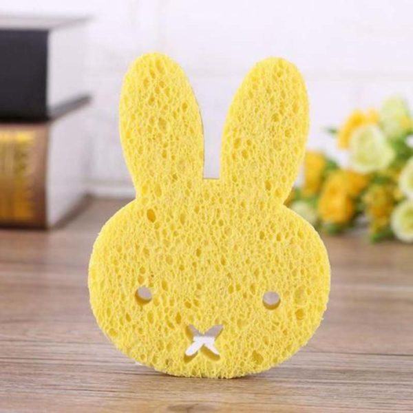 Mini fun rabbit sponge | Yellow