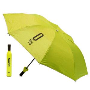 Parapluie pliable malin Bouteille Jaune 01