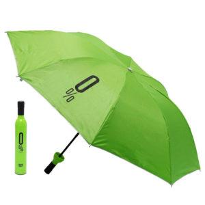 Smart folding umbrella Bottle | Green