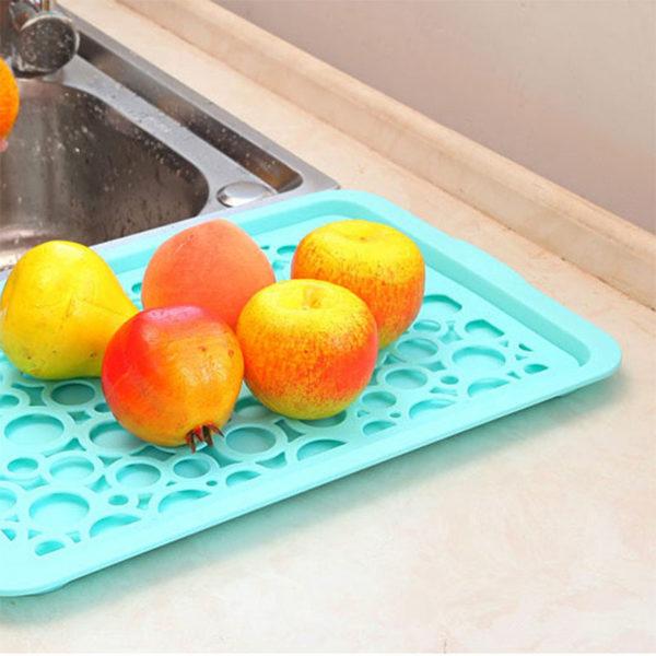Égouttoir à vaisselle coloré_Bleu 02