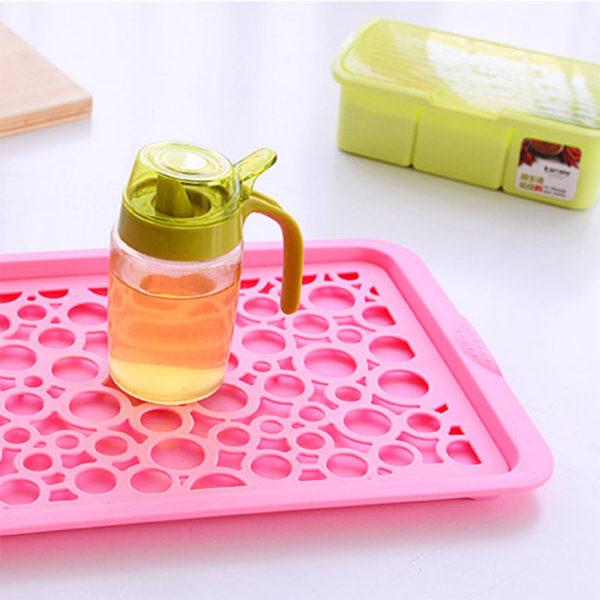 Égouttoir à vaisselle coloré_Rose 02