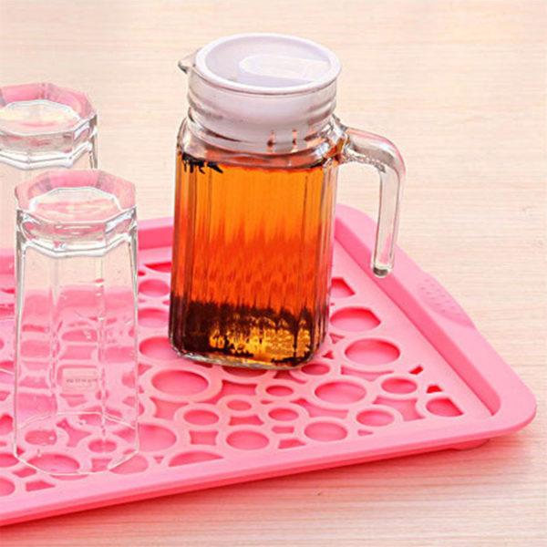 Égouttoir à vaisselle coloré_Rose 03