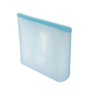 Grand sachet en silicone réutilisable Bleu 01