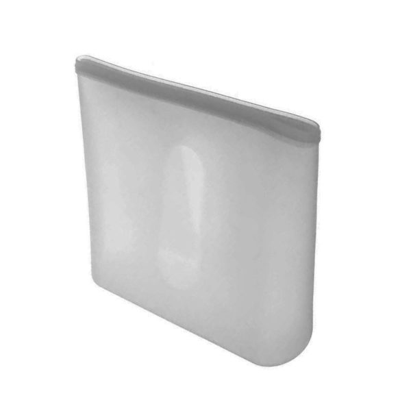 Set of 2 reusable silicone sachets | Grey