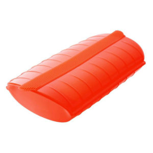 Grande papillote 650ml en silicone Rouge 01