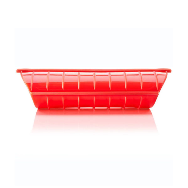 Grande papillote 650ml en silicone Rouge 03