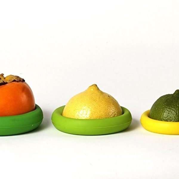 Set of 4 Storage Caps for Jars, Fruits and Vegetables