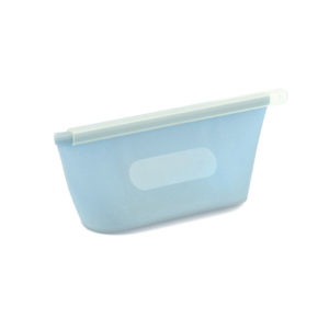 Small reusable silicone bag | Blue