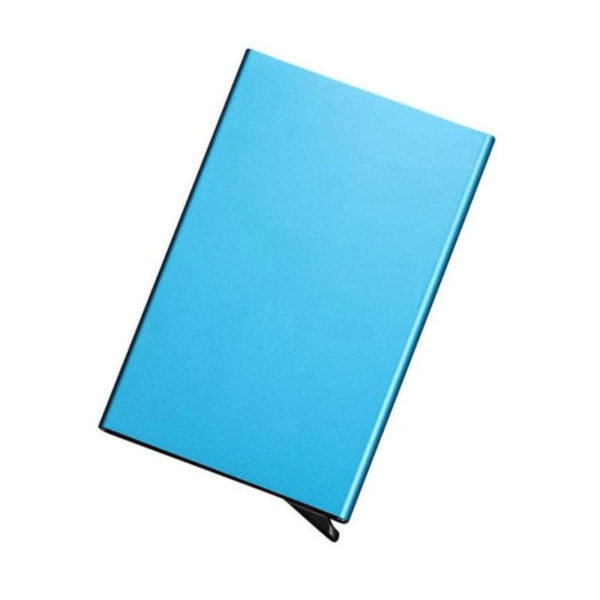 Protective and smart credit card holder | Blue