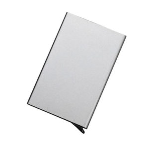 Protective and smart credit card holder | Silver Gray