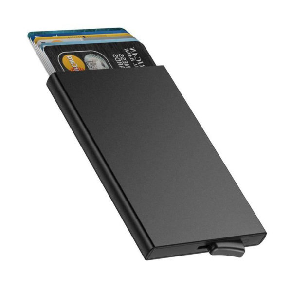 Protective and smart credit card holder | Black