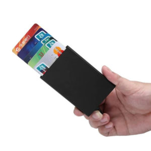Protective and smart credit card holder | Black
