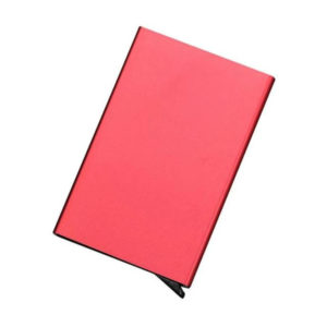 Protective and smart credit card holder | Red