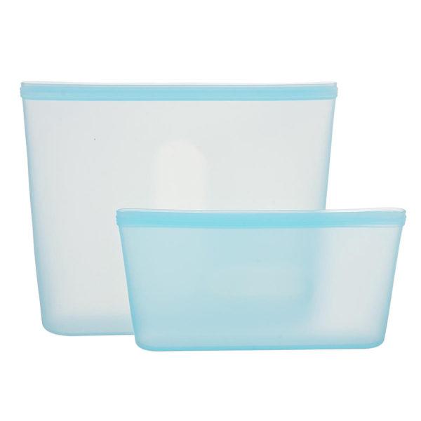 Sachets en silicone réutilisables Bleu 01