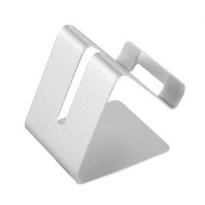 Support de smartphone en metal Gris 01