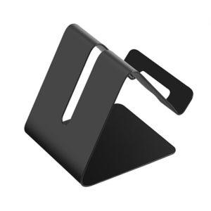 Support de smartphone en metal Noir 01