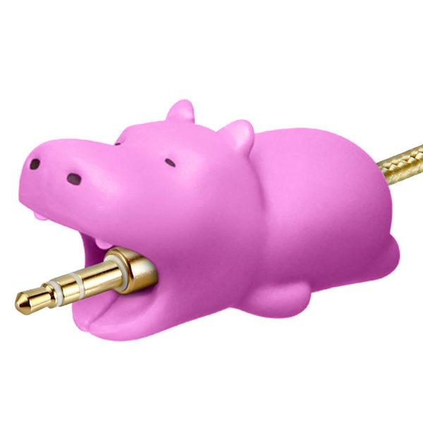 Adorable protecteur de prise USB_hippopotame 02