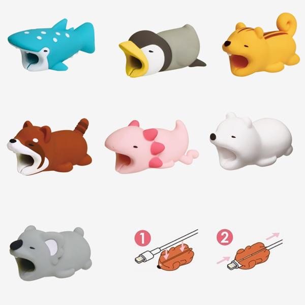 Adorable protecteur de prise USB_hippopotame 04