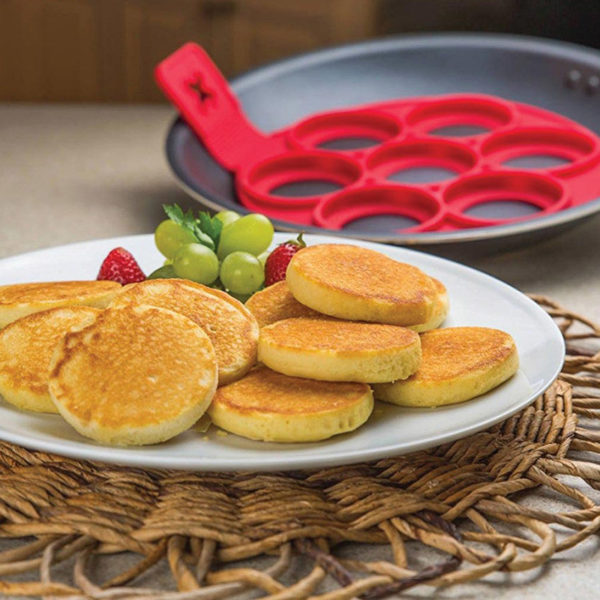 Silicone pancake mold | Red