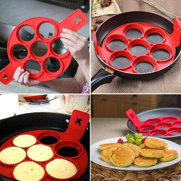 Silicone Pancake Mold Red Www Zunik Fr