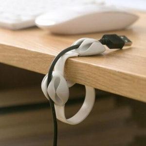 Organisateur de câble coloré_Blanc 02