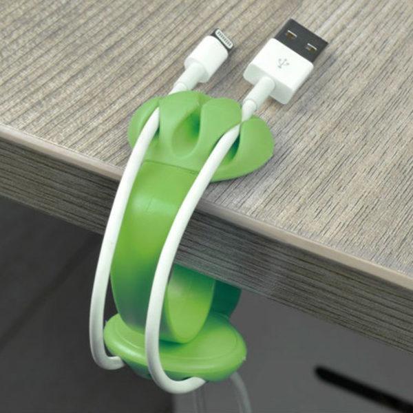 Organisateur de câble coloré_Vert 02