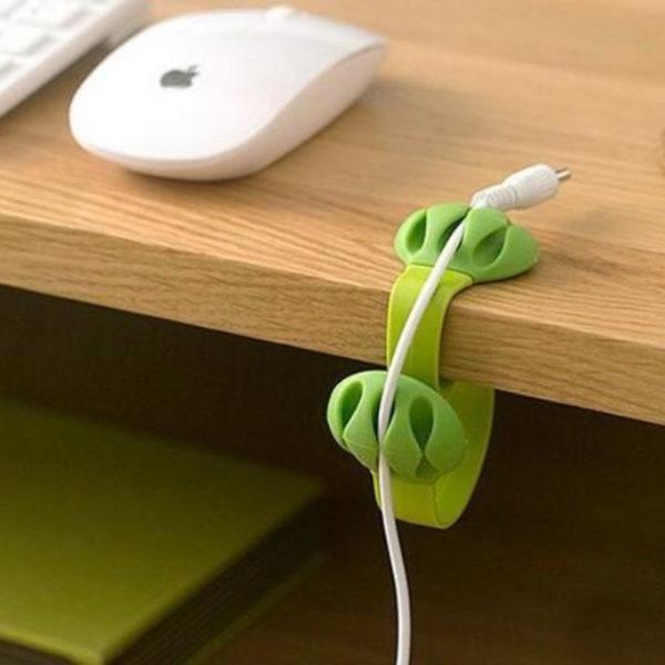 Organisateur de câble coloré_Vert 05