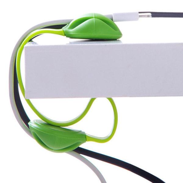Organisateur de câble coloré_Vert 06