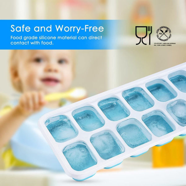 Smart silicone ice cube tray | Green