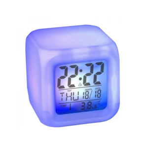 Cubic luminous magic digital clock