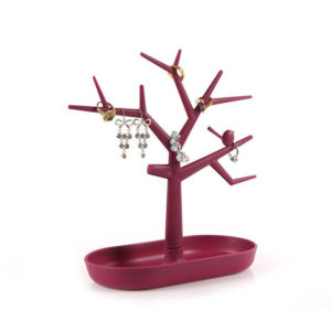 Adorable Jewelry Tree | Burgundy
