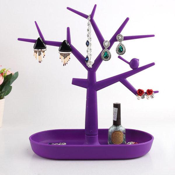 Adorable Jewelry Tree | Burgundy