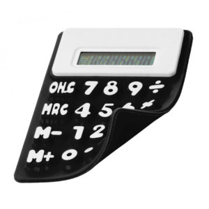 Flexible solar calculator | Black