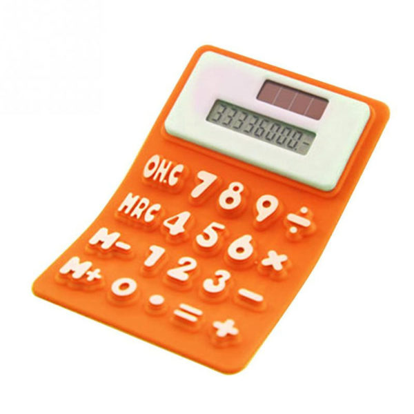 Flexible solar calculator | Orange