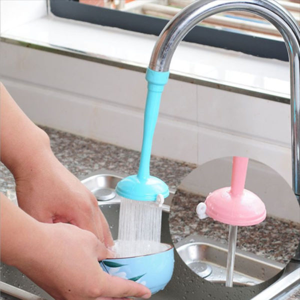 Shower extension for faucet | Pink