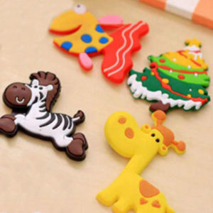 Set of 10 adorable colored magnets