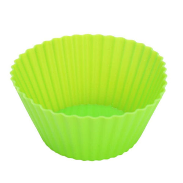 12 Silicone Cupcake Molds