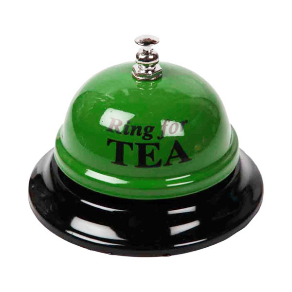 Playful welcome bell | Green