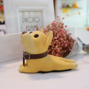Adorable Dog Door Stopper | Brown