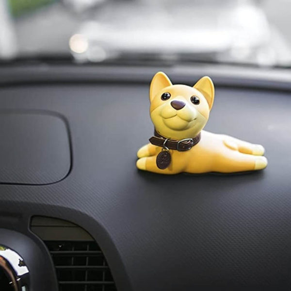 Adorable Dog Door Stopper | Brown