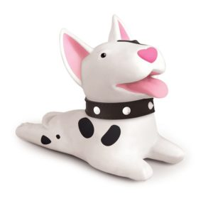Adorable Dog Door Stopper | White
