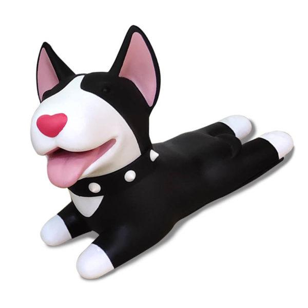 Adorable Dog Door Stopper | Black