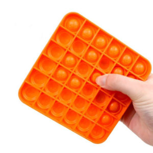 Fun square silicone multifunction game | Orange